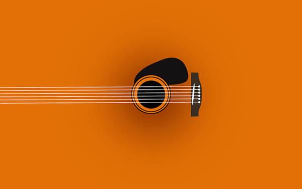 Wall Art - Digital Art - Guitar 2 by Mark Ashkenazi