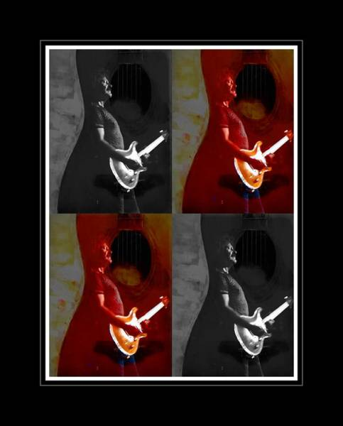 Photograph - Guitar By Four by Alice Gipson