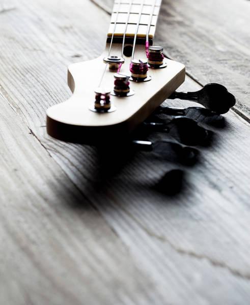 Chord Wall Art - Photograph - Guitar Headstock by Bill Oxford