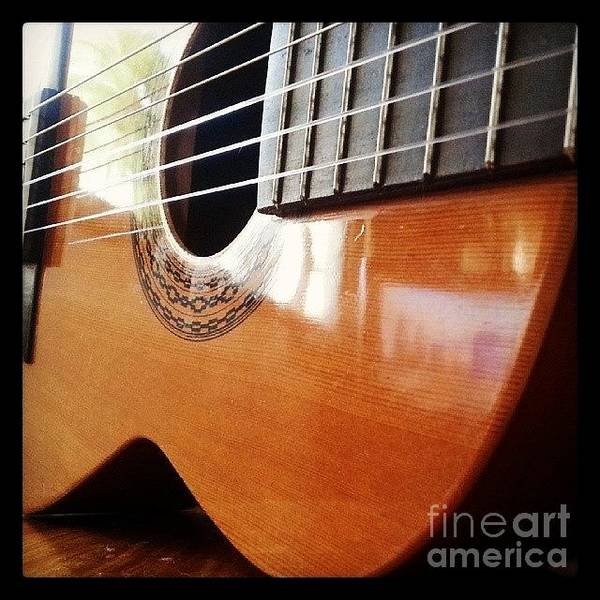 Musicians Wall Art - Photograph - #guitar #music #musicalinstrument by Abbie Shores