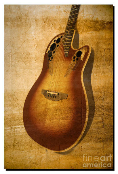 Photograph - Guitar by Richard J Thompson