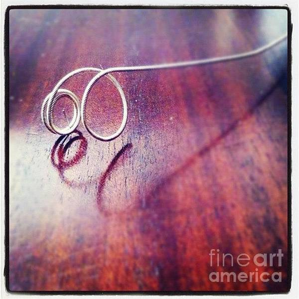 Photograph - Guitar String by Denise Railey