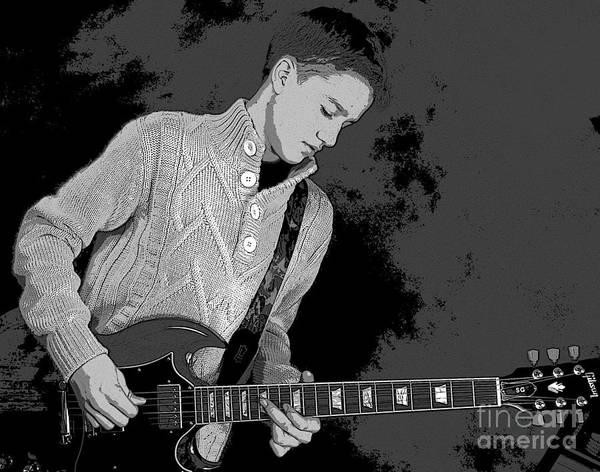 Photograph - Guitarist 1 by Randi Grace Nilsberg