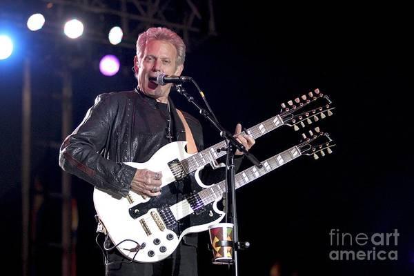 Felder Wall Art - Photograph - Guitarist Don Felder by Concert Photos