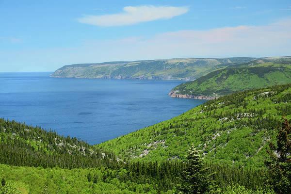 Wall Art - Photograph - Gulf Of Saint Lawrence Coastline Seen by Darlyne A. Murawski
