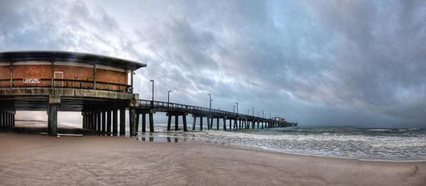 Wall Art - Digital Art - Gulf State Pier by Michael Thomas