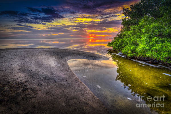 End Of Summer Photograph - Gulf Stream by Marvin Spates
