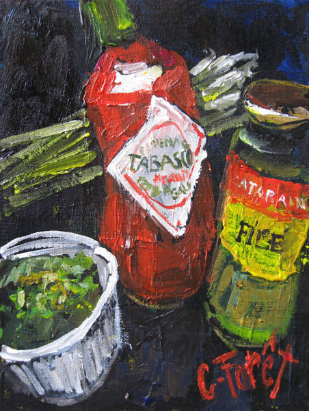 Wall Art - Painting - Gumbo On The Way by Carole Foret