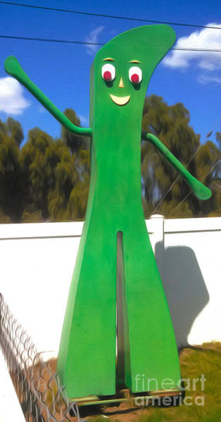 Painting - A Huge Gumby by Gregory Dyer