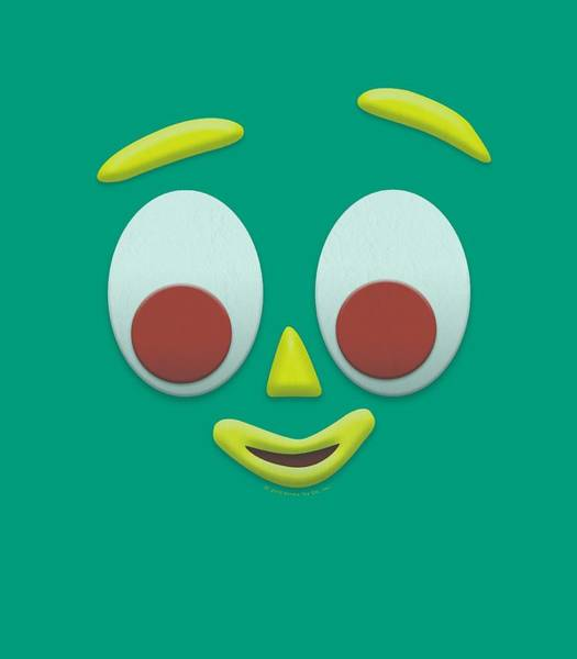 Gumby Digital Art - Gumby - Gumbme by Brand A