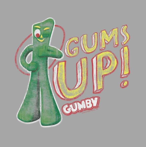 Gumby Digital Art - Gumby - Gums Up by Brand A