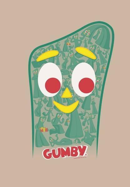 Gumby Digital Art - Gumby - Inside Gumby by Brand A