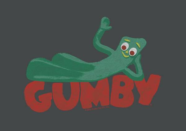 Gumby Digital Art - Gumby - On Logo by Brand A
