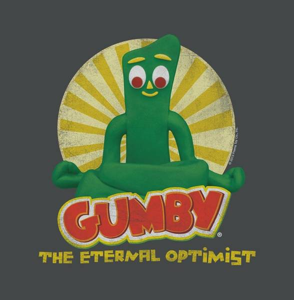 Gumby Digital Art - Gumby - Optimist by Brand A