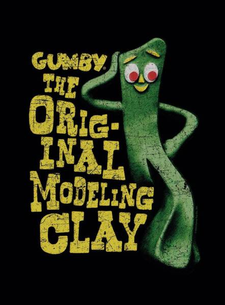 Wall Art - Digital Art - Gumby - So Punny by Brand A