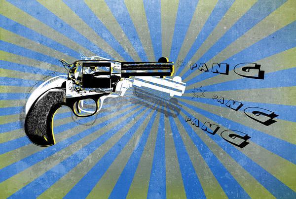 Wall Art - Digital Art - Gun 17 by Mark Ashkenazi
