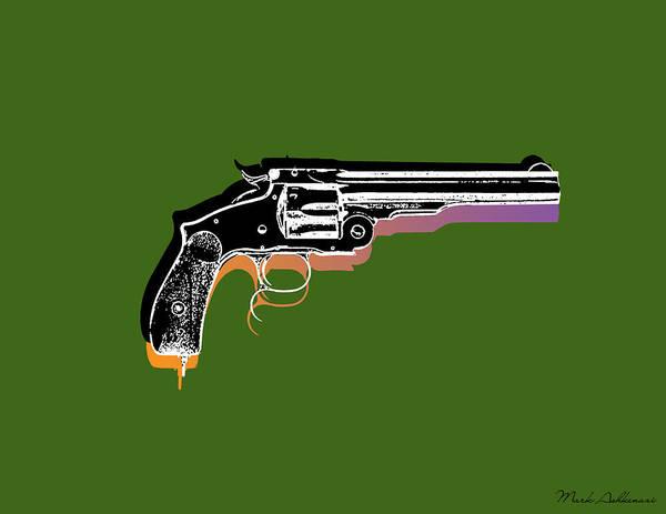 Weapons Digital Art - Gun 3 by Mark Ashkenazi