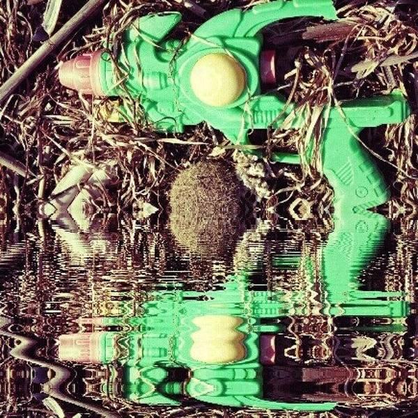 Steampunk Wall Art - Photograph - #gun #game #futuristic #cyberpunk by Michele Stuppiello