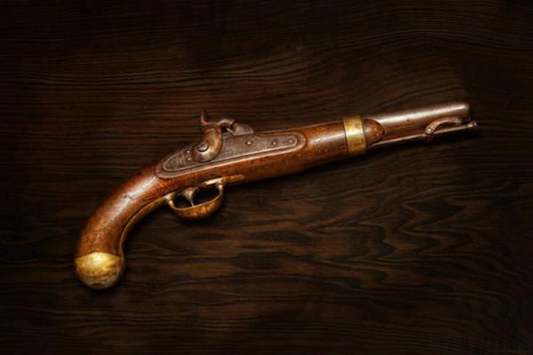 Gun Photograph - Gun - Us Pistol Model 1842 by Mike Savad