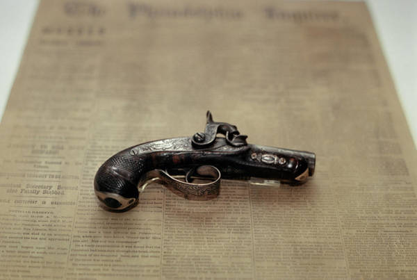 Space Gun Photograph - Gun Used By John Wilkes Booth by Vintage Images