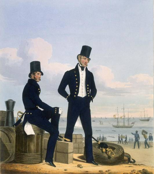 Wall Art - Drawing - Gunners, Boatswains And Carpenters by L. and Eschauzier, St. Mansion