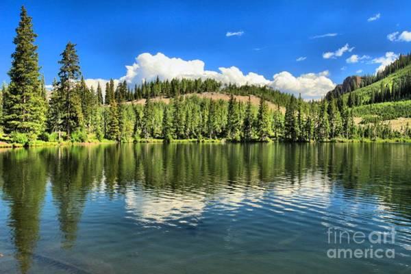 Photograph - Gunnison Dollar Lake by Adam Jewell