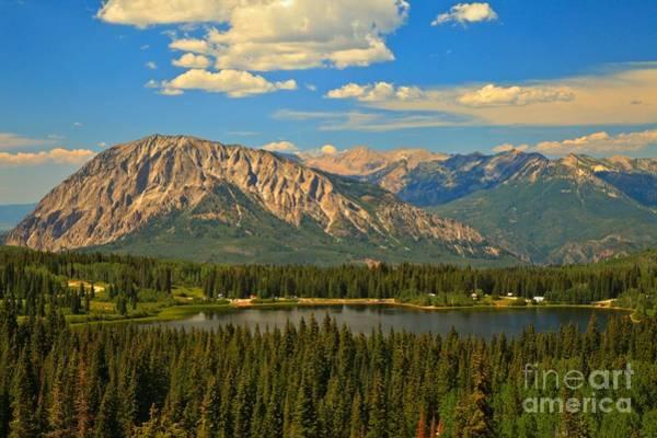 Photograph - Gunnison High Mountain Lake by Adam Jewell