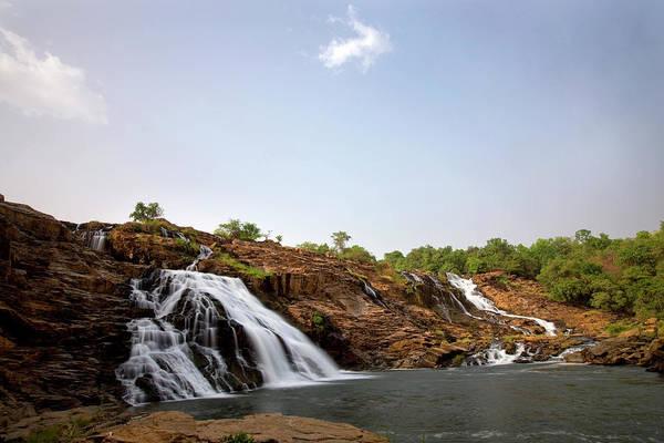 Nigeria Wall Art - Photograph - Gurara Falls by Sean Caffrey