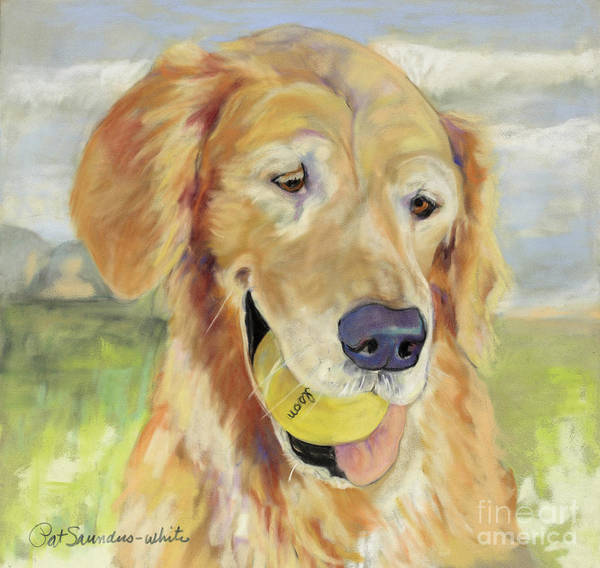 Painting - Gus by Pat Saunders-White