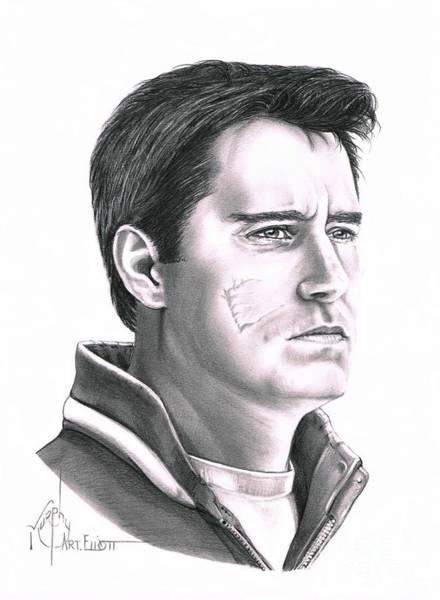 Famous People Drawing - Guy Boucher by Murphy Elliott