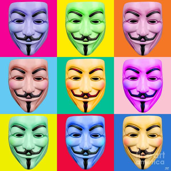 Revolting Digital Art - Guy Fawkes by Neil Finnemore