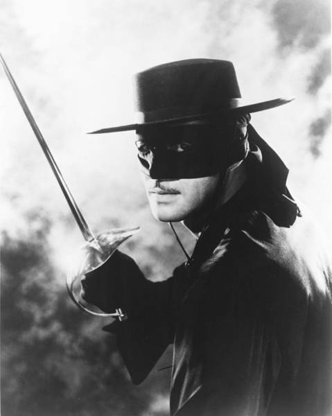 Guy Photograph - Guy Williams In Zorro  by Silver Screen