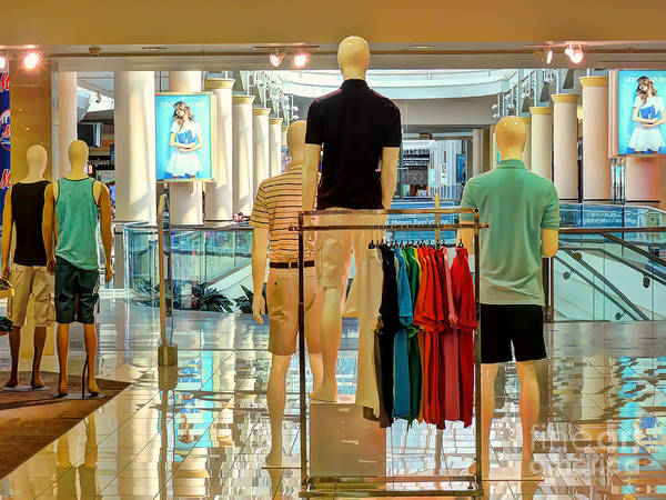 Photograph - The Guys At The Mall by Jeff Breiman