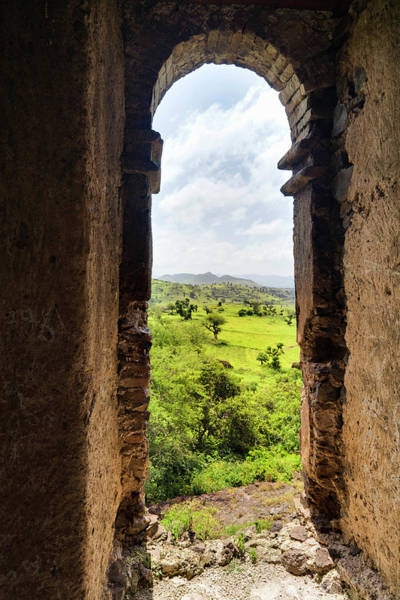 Amhara Photograph - Guzara Castle Between Gonder And Lake by Martin Zwick