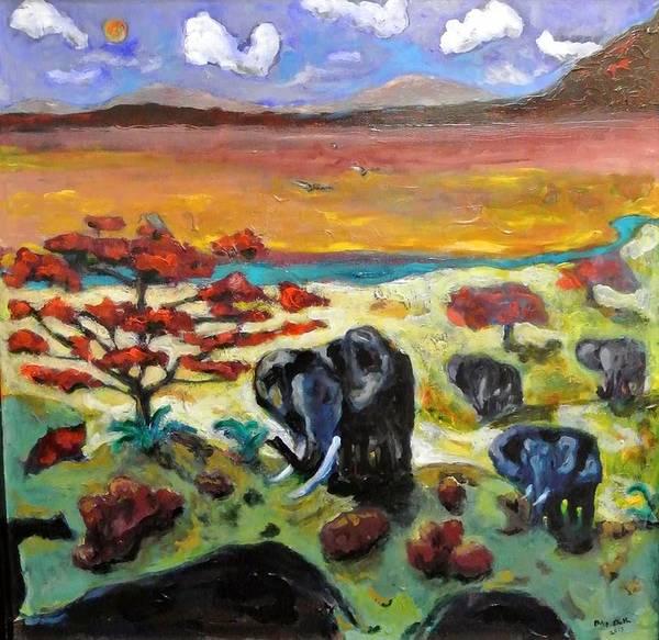Painting - Guzzo II by Dilip Sheth
