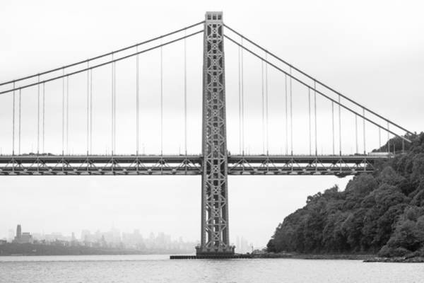 Wall Art - Photograph - Gwb And Framing Manhattan by Chris Halford