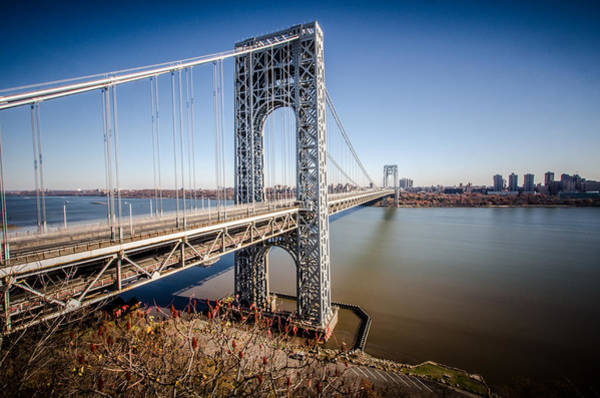 Photograph - GWB by Johnny Lam