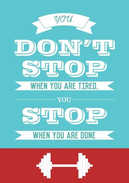Wall Art - Digital Art - Gym Quotes Typography Quotes Poster by Lab No 4 - The Quotography Department