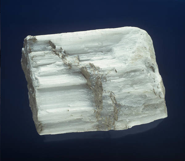 Alabaster Photograph - Gypsum by Charles D. Winters
