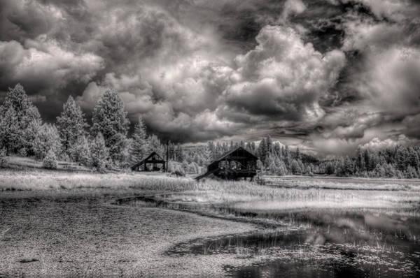 Photograph - Gypsy Bay Road Lumber Mill 2 by Lee Santa