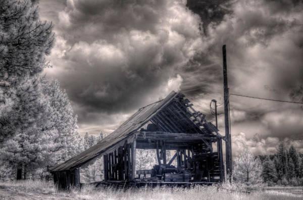Photograph - Gypsy Bay Road Lumber Mill 3 by Lee Santa