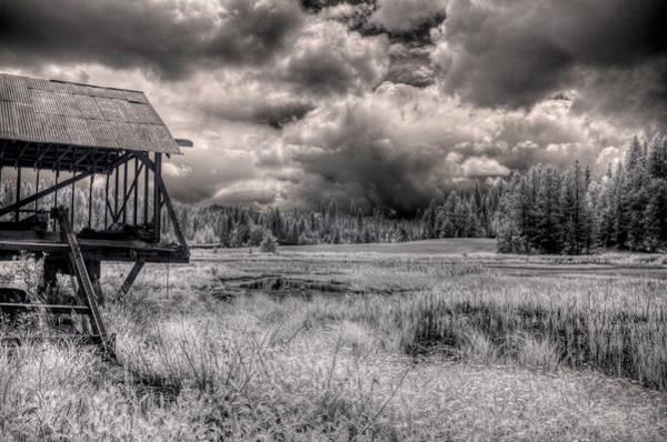 Photograph - Gypsy Bay Road Lumber Mill 4 by Lee Santa