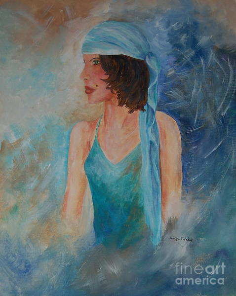 Painting - Gypsy Blue by Tamyra Crossley