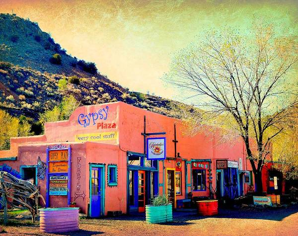 Wall Art - Photograph - Gypsy Plaza by Toni Abdnour