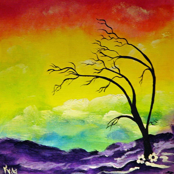 Kag Wall Art - Painting - Gypsy Wind by Gina Cooper