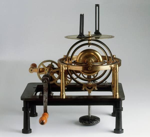 Crank Photograph - Gyroscope Used As Navigational Device by Dorling Kindersley/uig