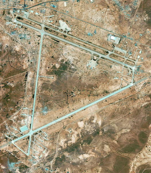 Military Air Base Photograph - H3 Military Complex by Geoeye/science Photo Library