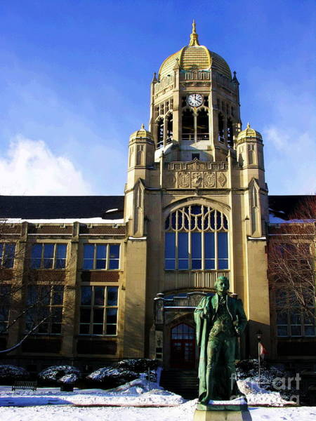 Muhlenberg Photograph - Haas College Center- Muhlenberg College by Jacqueline M Lewis