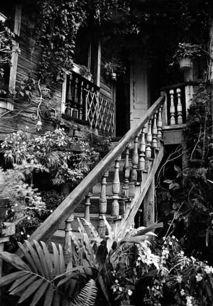 Hacienda Stairway Art Print
