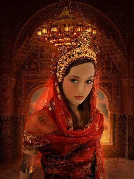 Judaica Digital Art - Hadassah by Casey Jones